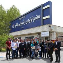 بازدید دانشجویان دانشگاه تهران