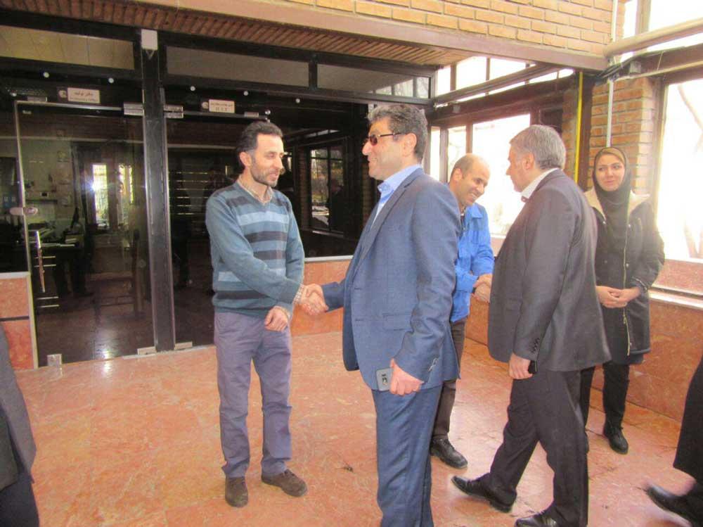 دکتر فضلی و جمعی از مدیران ارشد از ۱۰ کارخانه گروه در استان قزوین بازدید کردند