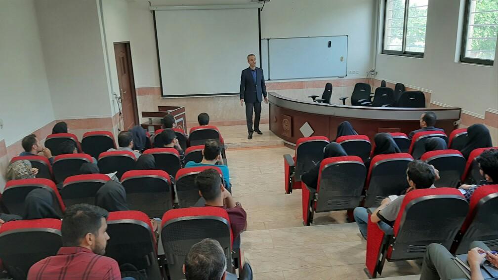 برگزاری کارگاه سیر کارآفرینی و استراتژیهای بازاریابی در گروه صنعتی گلرنگ در پردیس فارابی دانشگاه تهران