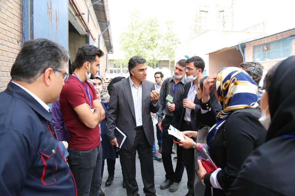 بازدید دانشجویان دانشگاه تهران از مجتمع یک و دو پاکشو