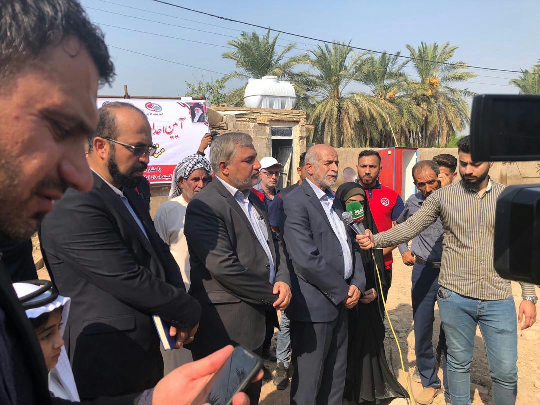 برگزاری آیین کلنگزنی احداث ۱۷۵ واحد مسکونی در مناطق آسیبدیده از سیل استان خوزستان