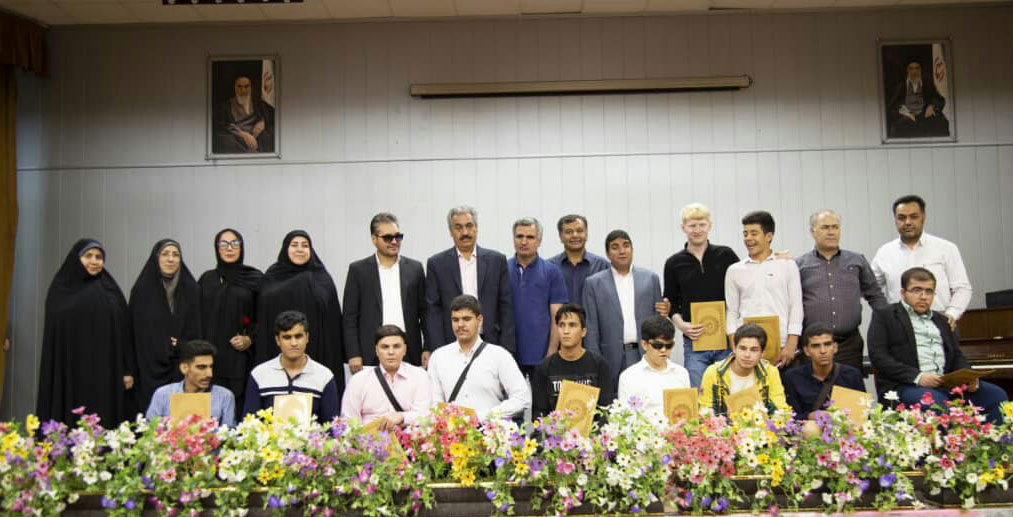 برگزاری مراسم روز عصای سفید با حمایت گروه صنعتی گلرنگ و ماسترفوده