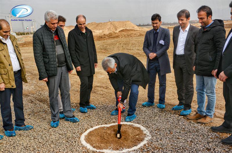 مراسم کلنگزنی پروژه کارخانه تولید پودر شوینده پدیده شیمی قرن برگزار شد